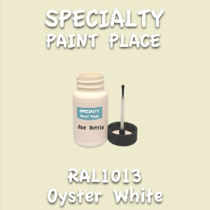 RAL 1013 oyster white 2oz bottle with brush
