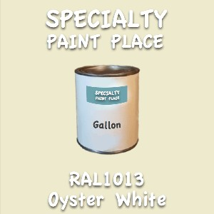 RAL 1013 oyster white gallon