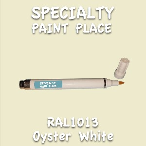 RAL 1013 oyster white pen