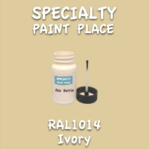 RAL 1014 ivory 2oz bottle with brush