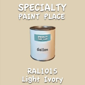 RAL 1015 Light Ivory Gallon Can