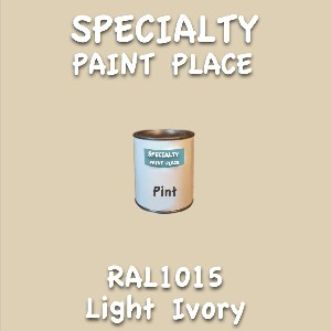 RAL 1015 light ivory pint