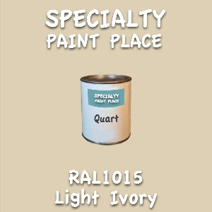 RAL 1015 Light Ivory Quart Can