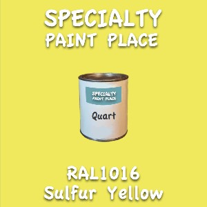 RAL 1016 sulfur yellow quart