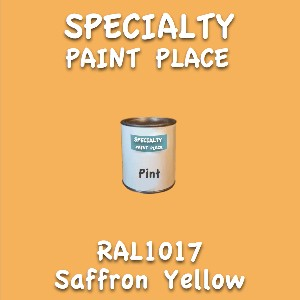 RAL 1017 Saffron Yellow Pint Can