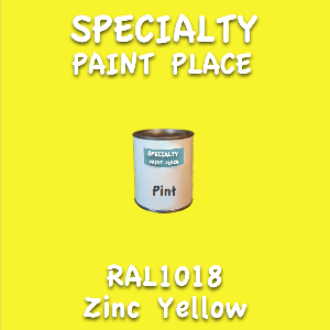 RAL 1018 Zinc Yellow Pint Can