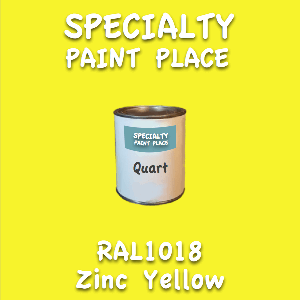 RAL 1018 zinc yellow quart