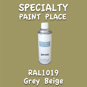 RAL 1019 grey beige 16oz aerosol can