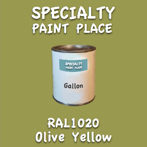 RAL 1020 olive yellow gallon