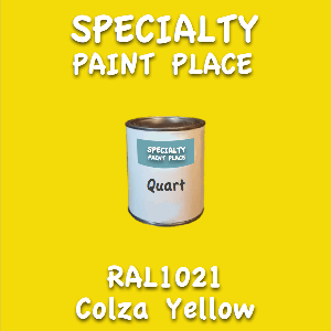 RAL 1021 Colza Yellow Quart Can