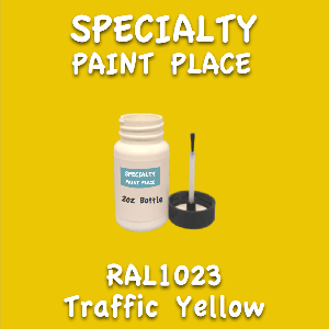 RAL 1023 Traffic Yellow 2oz Bottle with Brush
