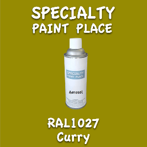 RAL 1027 Curry 16oz Aerosol Can