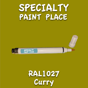 RAL 1027 curry pen