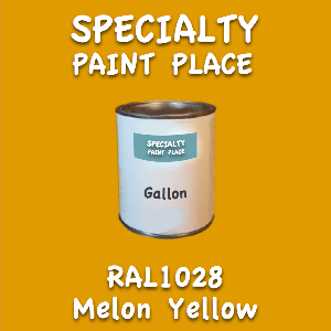 RAL 1028 melon yellow gallon