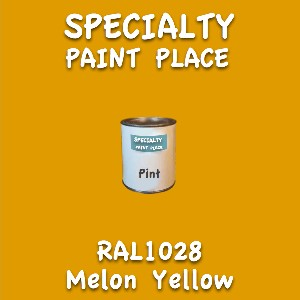 RAL 1028 Melon Yellow Pint Can