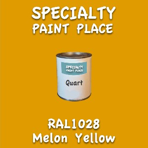 RAL 1028 Melon Yellow Quart Can