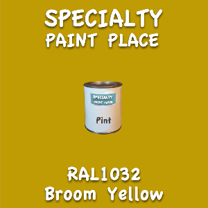 RAL 1032 broom yellow pint
