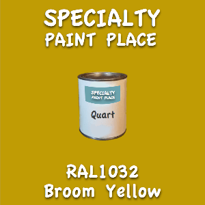 RAL 1032 Broom Yellow Quart Can