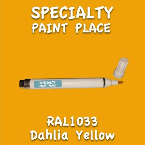 RAL 1033 dahlia yellow pen
