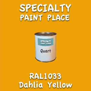 RAL 1033 dahlia yellow quart