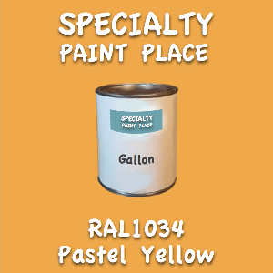 RAL 1034 pastel yellow gallon