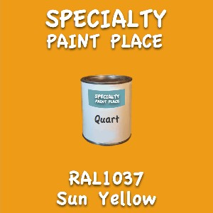 RAL 1037 sun yellow quart