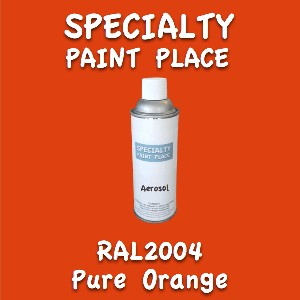 RAL 2004 Pure Orange 16oz Aerosol Can