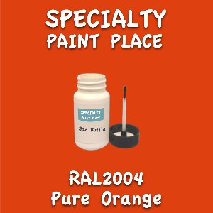 RAL 2004 pure orange 2oz bottle with brush