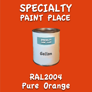 RAL 2004 pure orange gallon