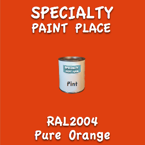 RAL 2004 Pure Orange Pint Can