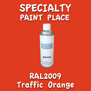 RAL 2009 Traffic Orange 16oz Aerosol Can