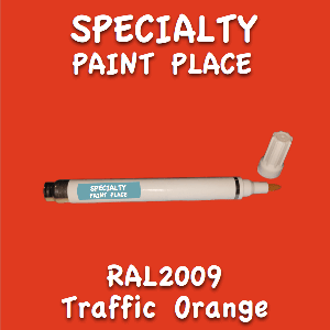 RAL 2009 traffic orange pen