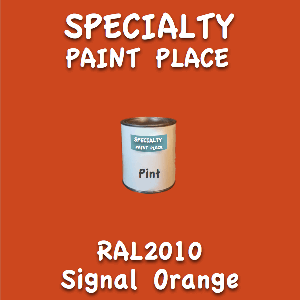 RAL 2010 signal orange pint