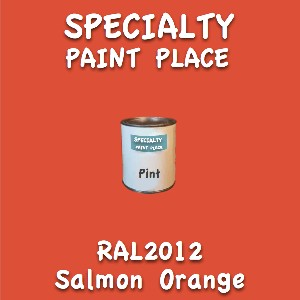 RAL 2012 salmon orange pint
