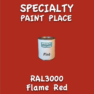 RAL 3000 flame red pint