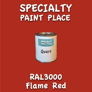 RAL 3000 Flame Red Quart Can