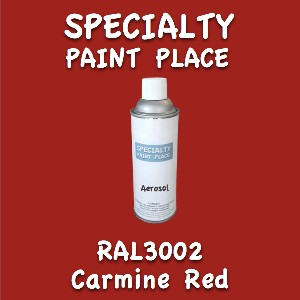 RAL 3002 carmine red 16oz aerosol can