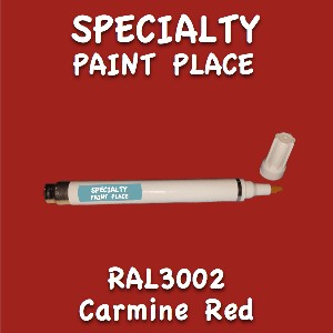 RAL 3002 carmine red pen