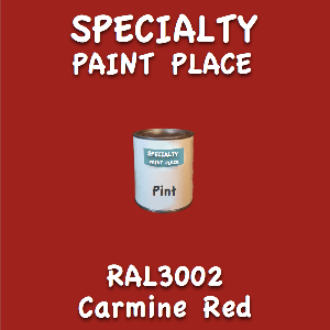 RAL 3002 Carmine Red Pint Can