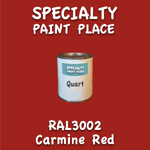 RAL 3002 Carmine Red Quart Can