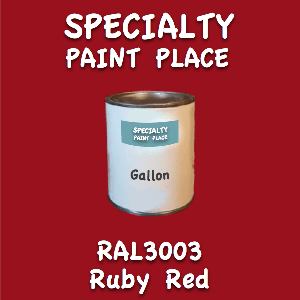 RAL 3003 ruby red gallon