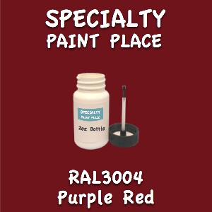 RAL 3004 purple red 2oz bottle with brush
