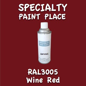 RAL 3005 Wine Red 16oz Aerosol Can