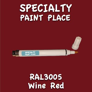 RAL 3005 wine red pen