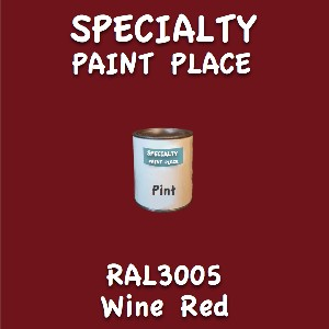 RAL 3005 Wine Red Pint Can