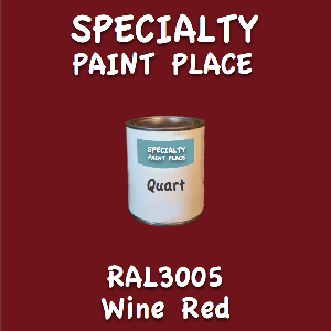 RAL 3005 wine red quart