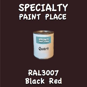RAL 3007 Black Red Quart Can