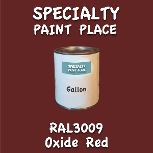 RAL 3009 Oxide Red Gallon Can