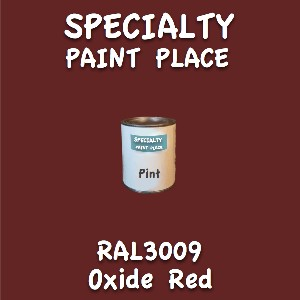 RAL 3009 oxide red pint