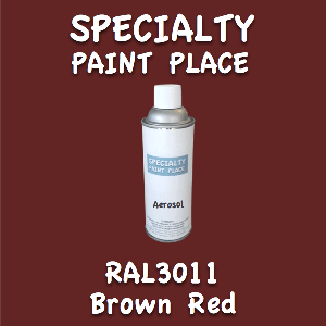 RAL 3011 brown red 16oz aerosol can